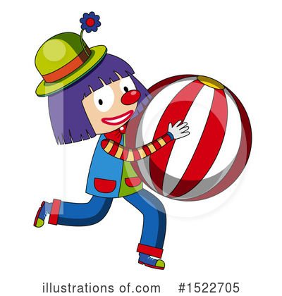Clown Clipart #1522705 by Graphics RF