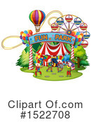 Royalty-Free (RF) Clown Clipart Illustration #1522708