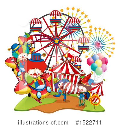 Roller Coaster Clipart #1522711 by Graphics RF