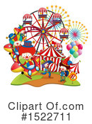 Royalty-Free (RF) Clown Clipart Illustration #1522711