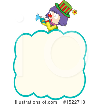 Royalty-Free (RF) Clown Clipart Illustration by Graphics RF - Stock Sample #1522718