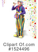 Clown Clipart #1524496 by dero
