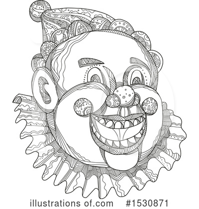 Clown Clipart #1530871 by patrimonio