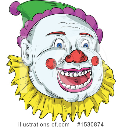 Clown Clipart #1530874 by patrimonio