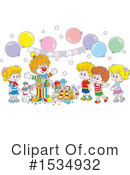 Clown Clipart #1534932 by Alex Bannykh