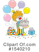 Clown Clipart #1540210 by Alex Bannykh