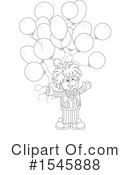 Clown Clipart #1545888 by Alex Bannykh