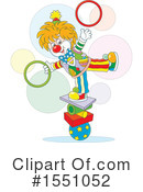 Clown Clipart #1551052 by Alex Bannykh