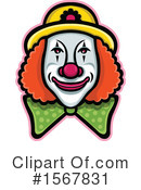 Clown Clipart #1567831 by patrimonio