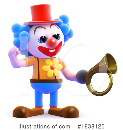 Clown Clipart #1638125 by Steve Young