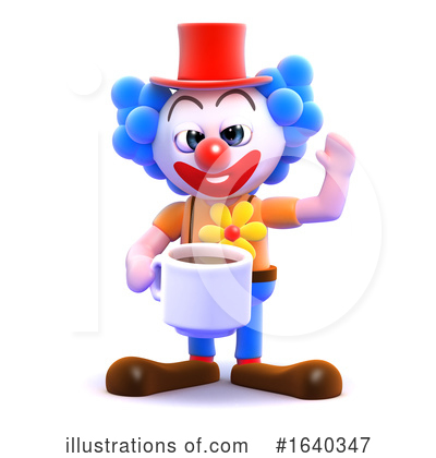 Clown Clipart #1640347 by Steve Young