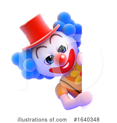 Clown Clipart #1640348 by Steve Young