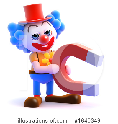 Clown Clipart #1640349 by Steve Young