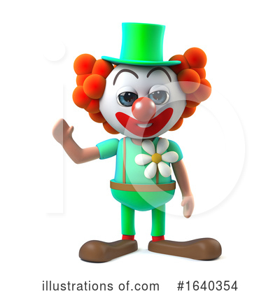 Clown Clipart #1640354 by Steve Young