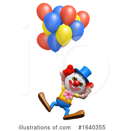 Clown Clipart #1640355 by Steve Young