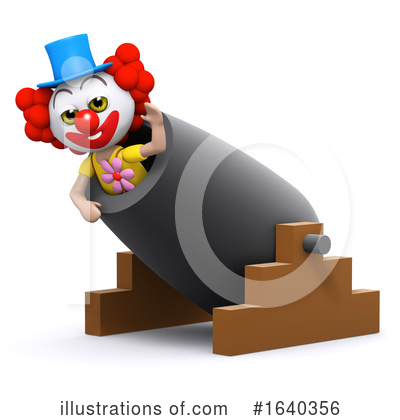 Clown Clipart #1640356 by Steve Young