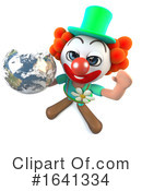 Clown Clipart #1641334 by Steve Young