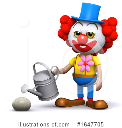 Clown Clipart #1647705 by Steve Young