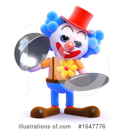 Clown Clipart #1647776 by Steve Young