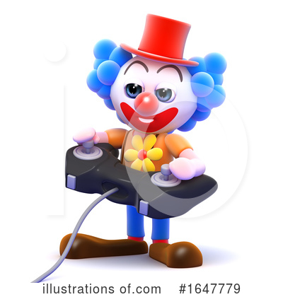 Clown Clipart #1647779 by Steve Young