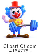Clown Clipart #1647781 by Steve Young