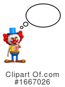 Clown Clipart #1667026 by Steve Young