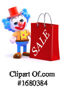 Clown Clipart #1680384 by Steve Young