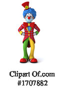 Clown Clipart #1707882 by Julos