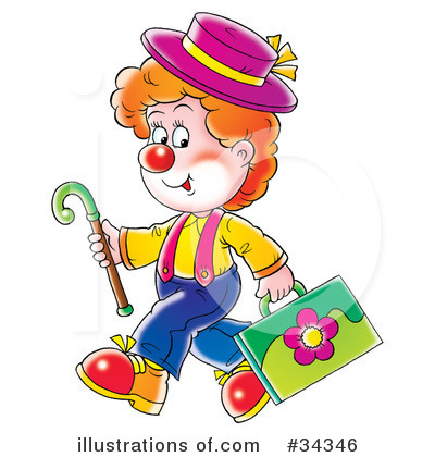 Clown Clipart #34346 by Alex Bannykh