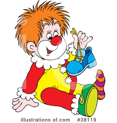 Clown Clipart #38119 by Alex Bannykh