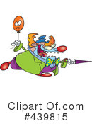 Royalty-Free (RF) Clown Clipart Illustration #439815