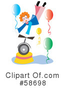 Clown Clipart #58698 by MilsiArt