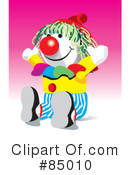 Clown Clipart #85010 by David Rey
