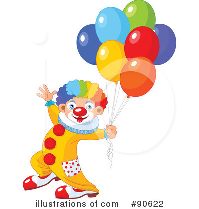 Party Balloons Clipart #90622 by Pushkin
