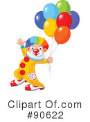 Clown Clipart #90622