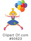 Clown Clipart #90623