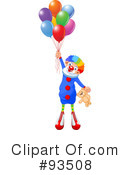 Clown Clipart #93508 by Pushkin