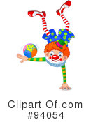 Clown Clipart #94054 by Pushkin