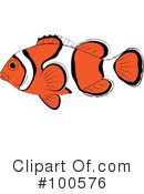 Clown Fish Clipart #100576 by Pams Clipart