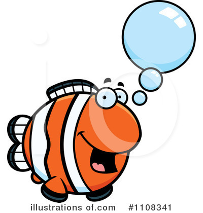 Fish Clipart #1108341 by Cory Thoman