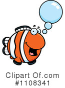 Royalty-Free (RF) Clownfish Clipart Illustration #1108341