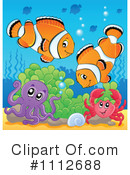 Clownfish Clipart #1112688 by visekart