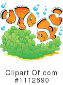 Royalty-Free (RF) Clownfish Clipart Illustration #1112690