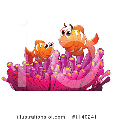 Clownfish Clipart #1140241 by Graphics RF