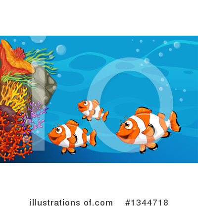 Sea Life Clipart #1344718 by Graphics RF