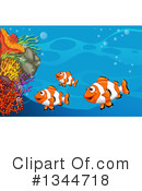 Clownfish Clipart #1344718 by Graphics RF