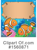 Clownfish Clipart #1560871 by visekart
