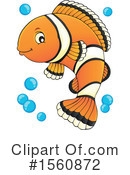 Clownfish Clipart #1560872 by visekart