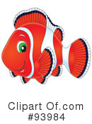 Clownfish Clipart #93984 by Alex Bannykh