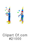 Clowns Clipart #21000